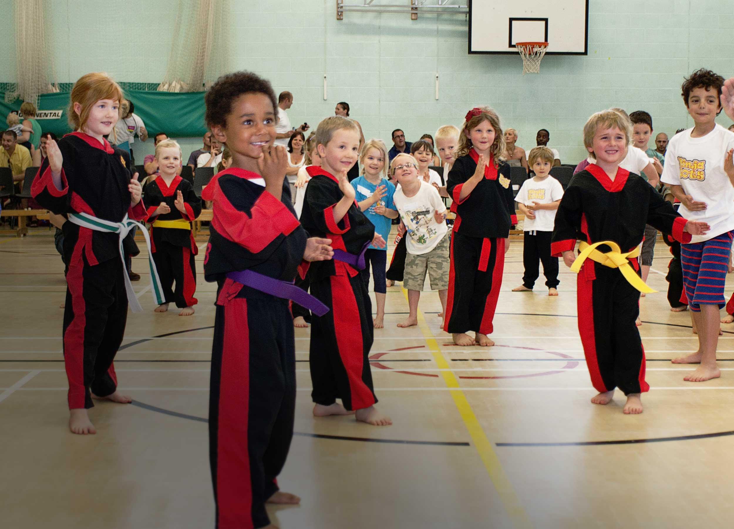 Childrens martial arts and fitness class